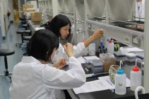 慶應義塾大学の未来の科学者養成講座に生命科学コース1年生が参加