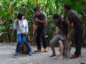 コタキナバルの動物園