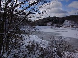 県北は雪景色