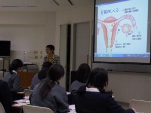 授業「生命」第22回 岡山中央病院産婦人科医師・金重恵美子先生