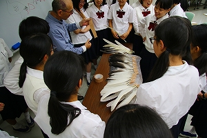 授業「生命」第9回 彫刻家の視点から 西平孝史先生
