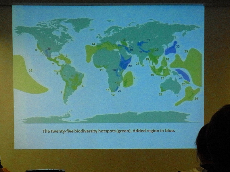 サバ大学での講義(持続可能な開発・ネーチャーツーリズム)