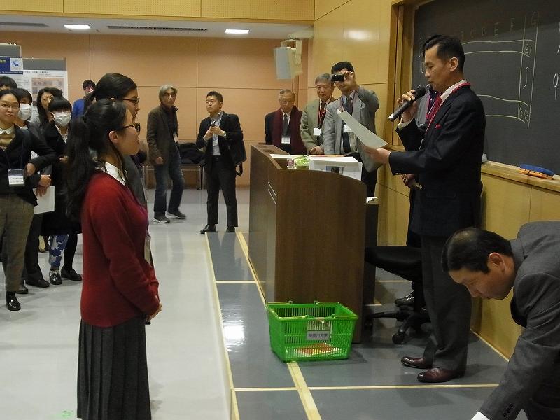 日本動物学会関東支部大会でベスト・ポスター賞