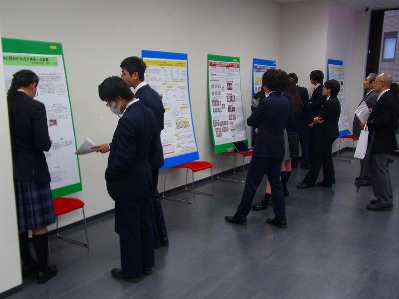 玉川学園のSSH生徒研究発表会を視察