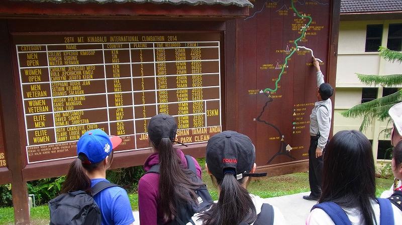 キナバル公園 Kinaval Park で散策