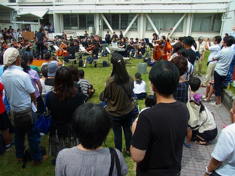 文化祭、目立っていたのはオーケストラ部