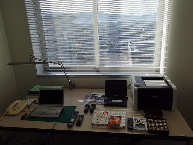 研究室を少し整備