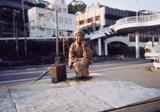 「林芙美子像」野外彫刻イメージ