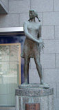 「少女」野外彫刻イメージ