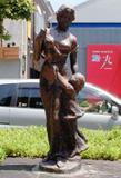 「母子像」野外彫刻イメージ