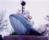 「桃太郎」野外彫刻イメージ