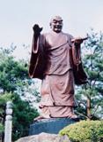 「日蓮大菩薩」野外彫刻イメージ