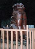「狛犬」野外彫刻イメージ