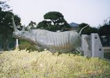 「犀」野外彫刻イメージ