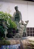 「童と良寛」野外彫刻イメージ