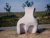 「土のにおい」野外彫刻イメージ