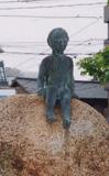 「少年ー遠望ー」野外彫刻イメージ