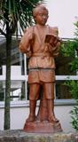 「二宮尊徳像」野外彫刻イメージ