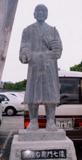 「矢頭右衛門像」野外彫刻イメージ
