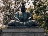 「小早川隆景」野外彫刻イメージ