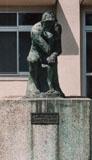 「LE PENSEUR AUGUST RODIN」野外彫刻イメージ