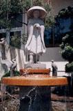 「円仁法師と白鷺」野外彫刻イメージ