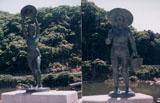 「童」野外彫刻イメージ
