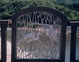 「鷺」野外彫刻イメージ
