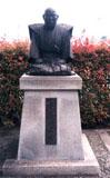 「管茶山像」野外彫刻イメージ