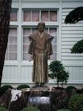 「山田方谷をたたえる像」野外彫刻イメージ