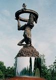 「大いなる柱」野外彫刻イメージ