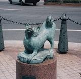 「犬」野外彫刻イメージ