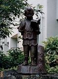 「二宮金次郎」野外彫刻イメージ