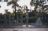 「路上の楽隊Ⅱ」野外彫刻イメージ