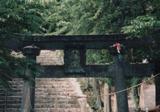 「史跡青銅の鳥居」野外彫刻イメージ