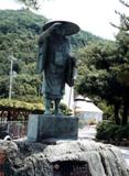 「西行法師像」野外彫刻イメージ