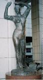 「バレリーナの像」野外彫刻イメージ