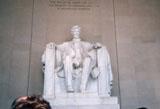 「アブラハム・リンカーン」野外彫刻イメージ