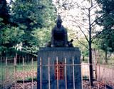 「児島高徳」野外彫刻イメージ