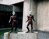 「二人の関係」野外彫刻イメージ