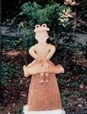 「巫女」野外彫刻イメージ