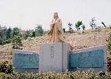「紫式部」野外彫刻イメージ
