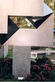 「光の窓」野外彫刻イメージ