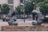 「鯱」野外彫刻イメージ
