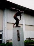 「円盤を投げる男」野外彫刻イメージ