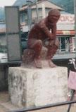 「考える人」野外彫刻イメージ
