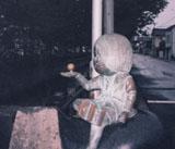 「鬼太郎とお父さん」野外彫刻イメージ