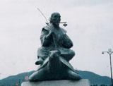 「浦島太郎」野外彫刻イメージ
