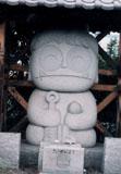 「親切な青鬼くん」野外彫刻イメージ