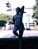 「躍動」野外彫刻イメージ